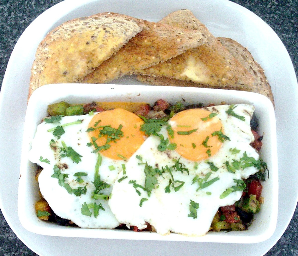 Fisherman's eggs is just one of the sardines on toast recipes featured on this page