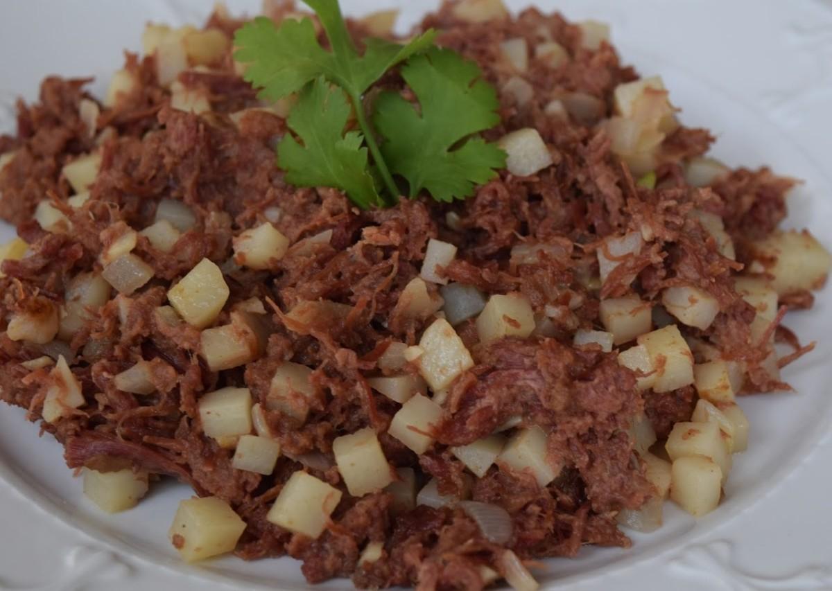 Filipino Corned Beef Hash