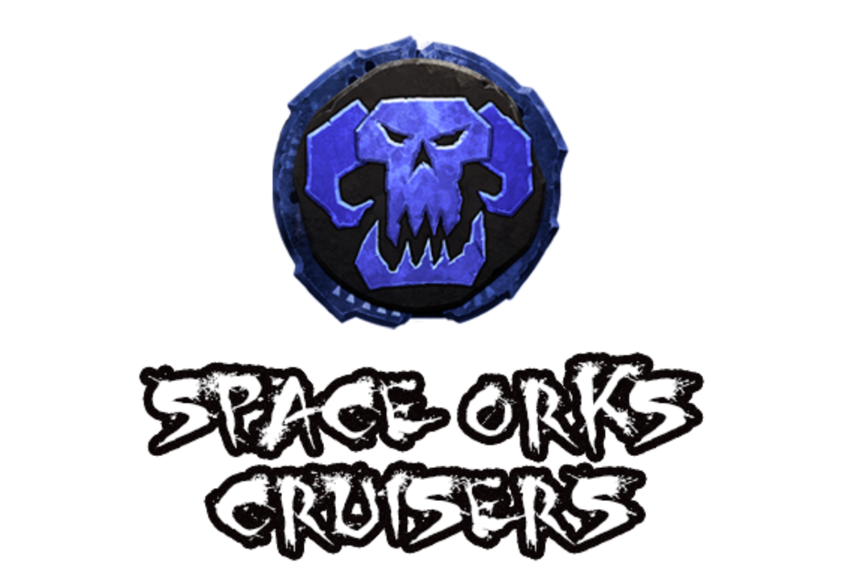 """Battlefleet Gothic: Armada II"" - Space Orks Cruisers [Advanced Ship Guide]"