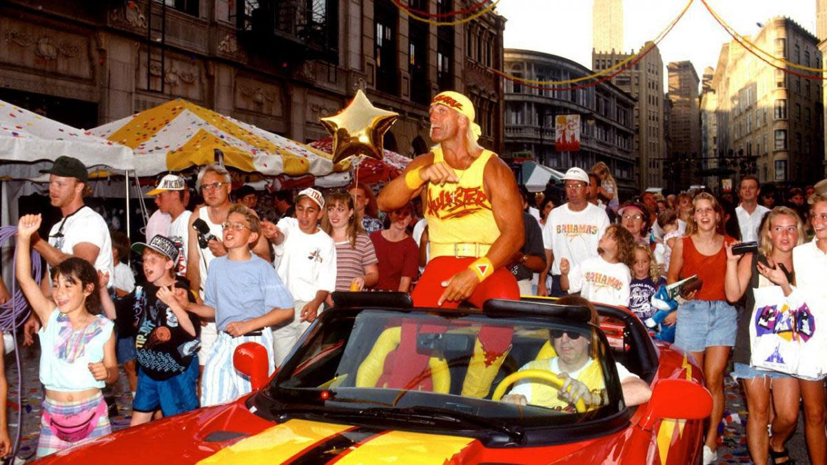 WCW took the first step in overtaking the WWF by signing its biggest star - Hulk Hogan.