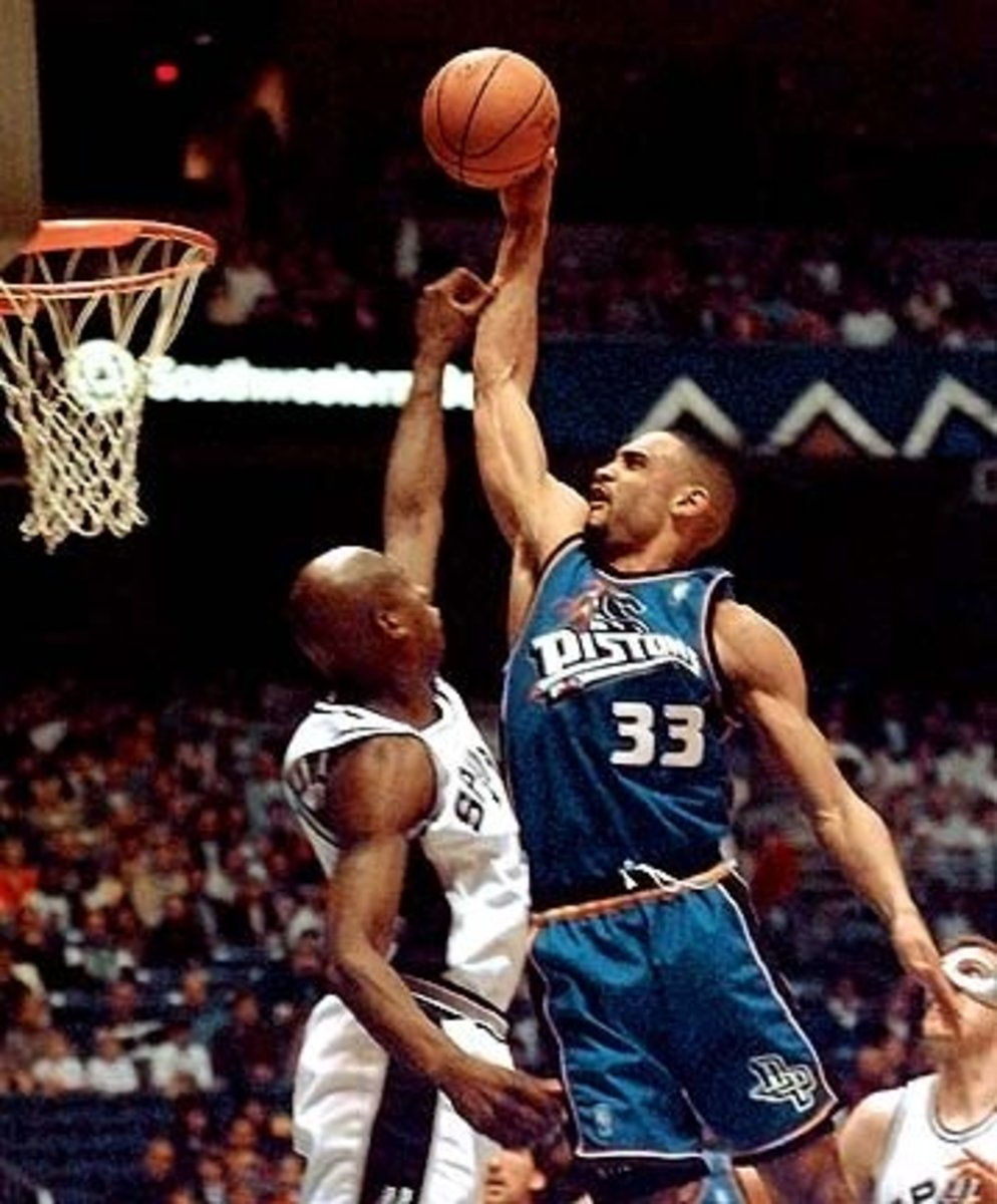 Grant Hill was one of the elite athletes when healthy.