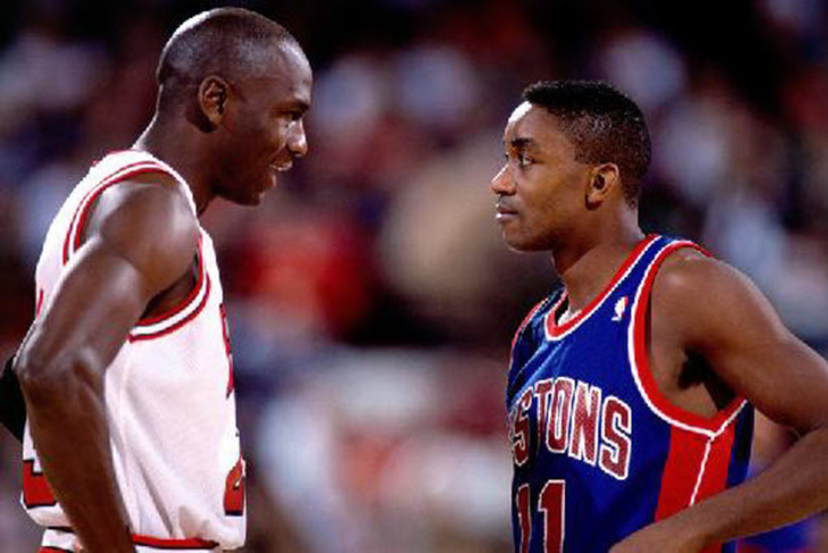 Isiah Thomas was not afraid to go toe-to-toe with the great Michael Jordan.