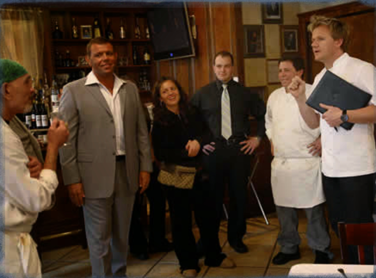Interesting Characters in Gordon Ramsay's Kitchen Nightmares