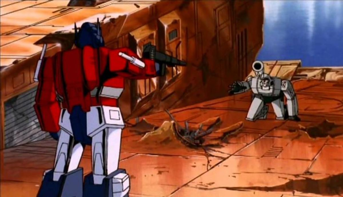 Optimus and Megatron have their final battle. One shall stand. One shall fall.