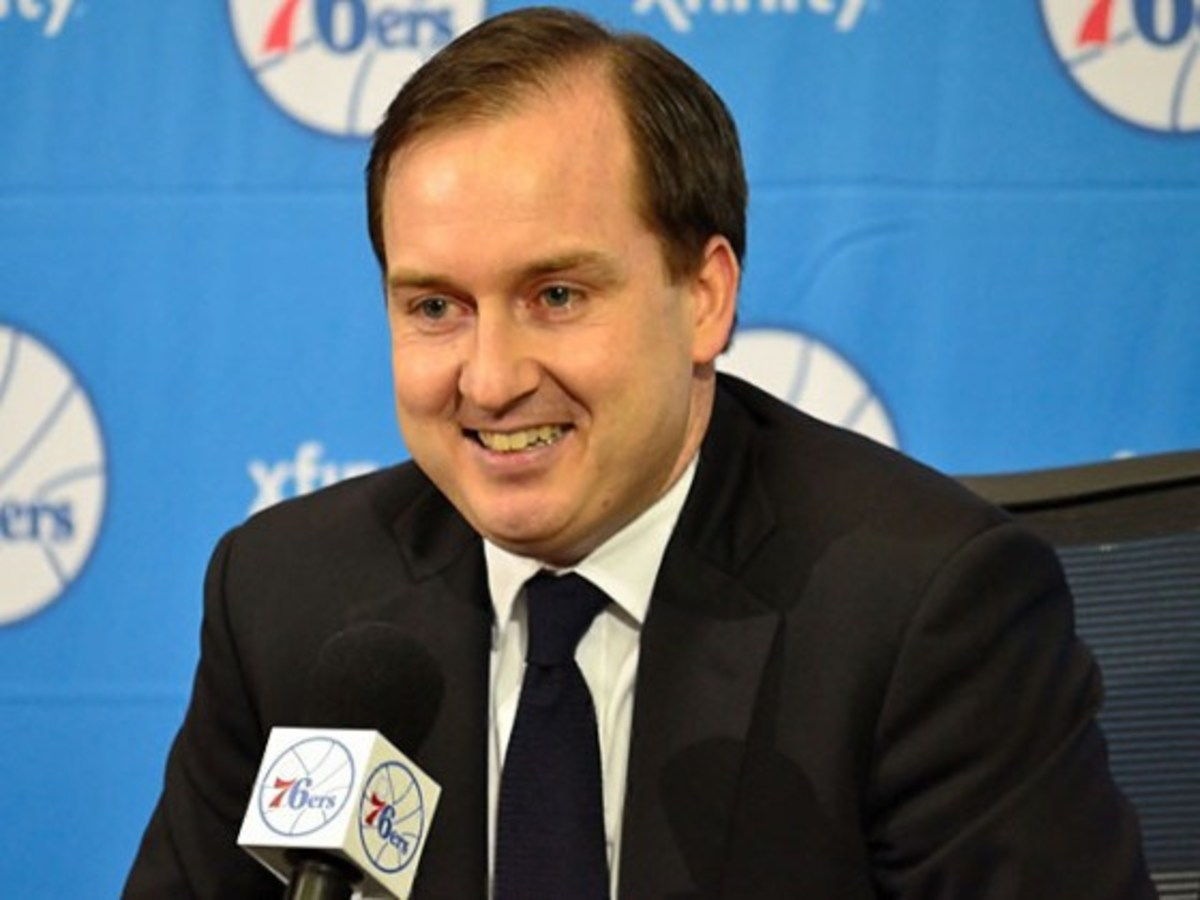 "Sam Hinkie is the mastermind of ""The Process."" He transformed the moribund Sixers team into championship contenders."