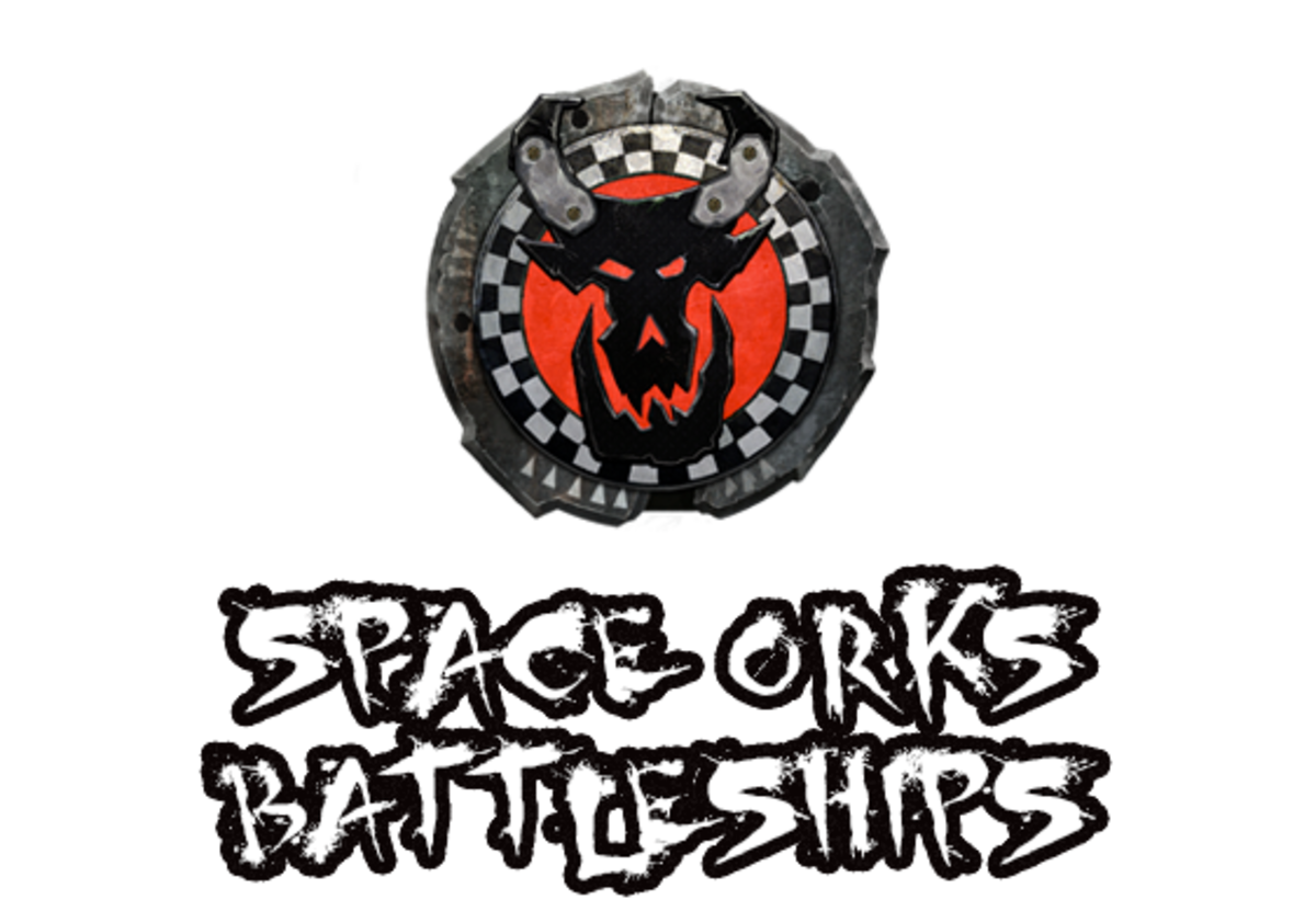 """Battlefleet Gothic: Armada II"" - Space Orks Battleships [Advanced Ship Guide]"