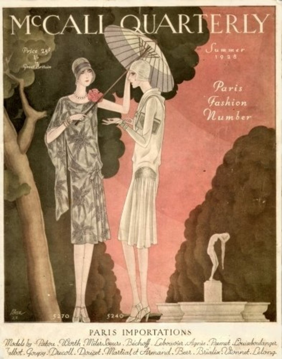 This magazine cover features and Art Deco-style illustration typical of the era.