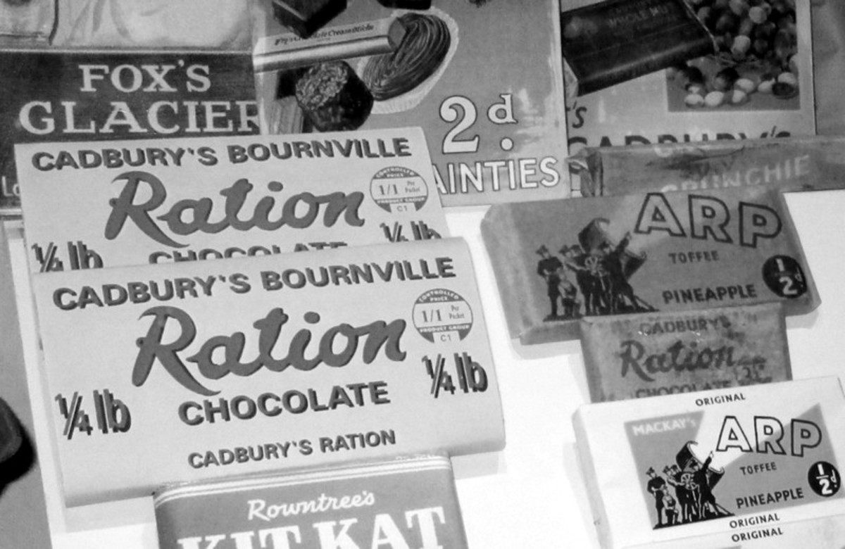 The Emergency in Ireland and Rationing during World War Two
