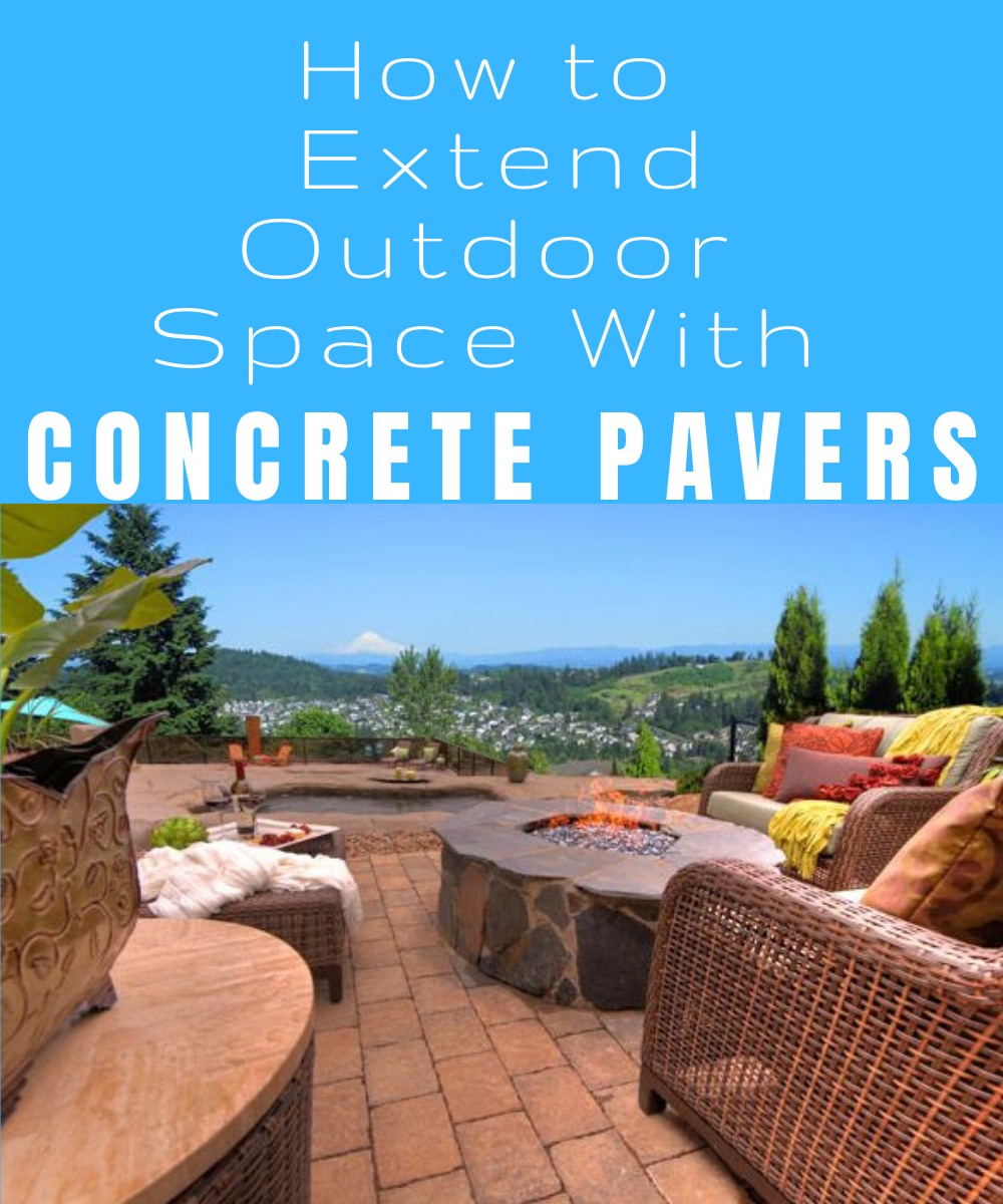 How to lay a patio with concrete pavers.