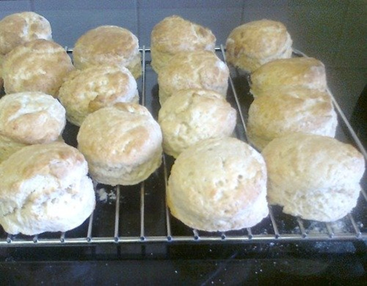 My homemade gluten-free scones.