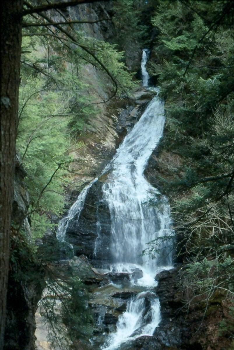 Moss Glen Falls near Stowe.