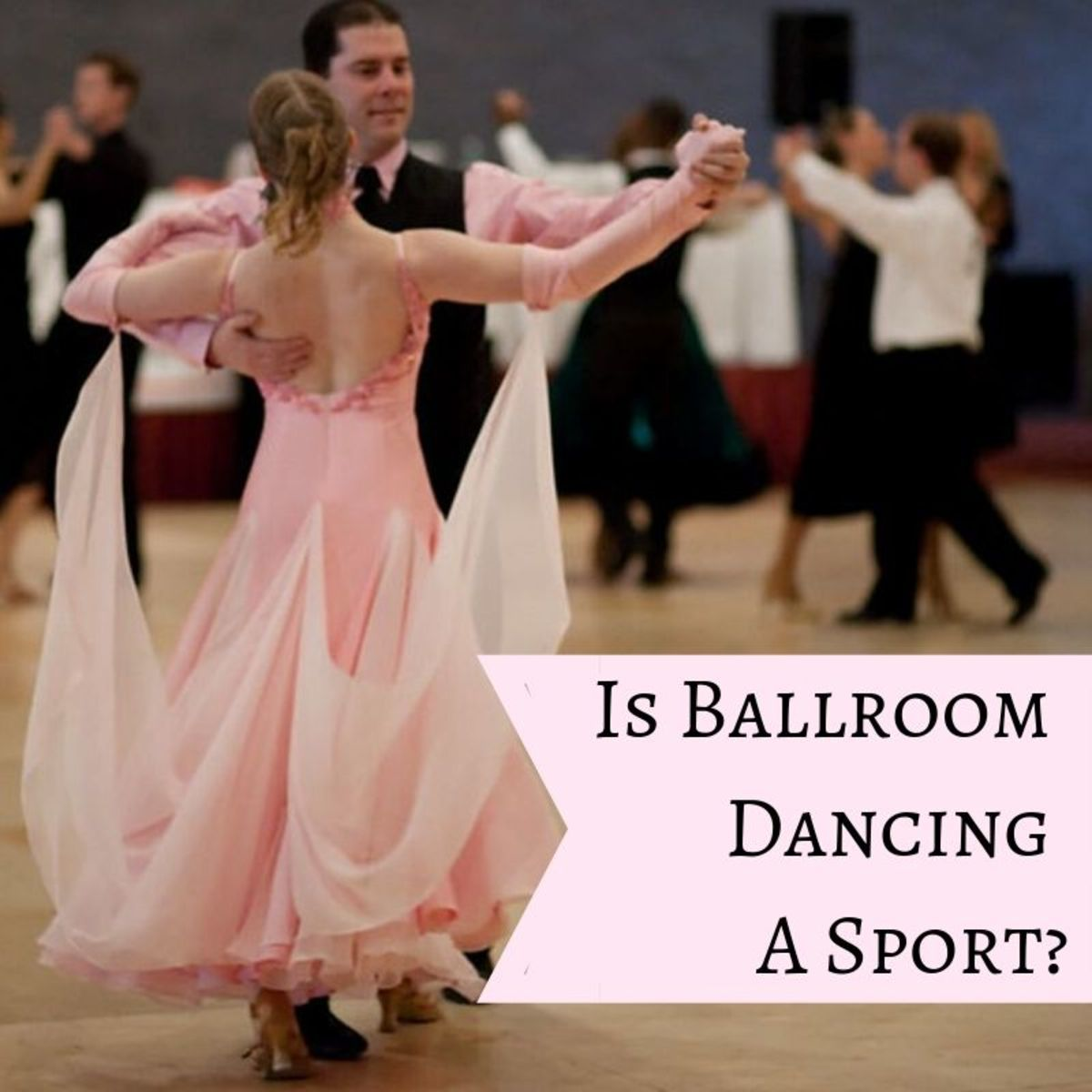 Is ballroom dancing a sport or a dance? Can it be both?