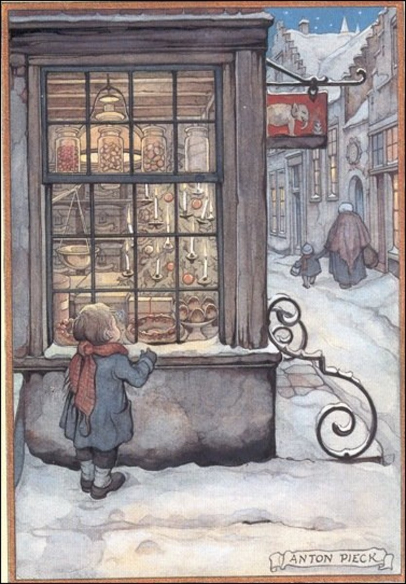 Under-appreciated Dutch Artist Anton Pieck