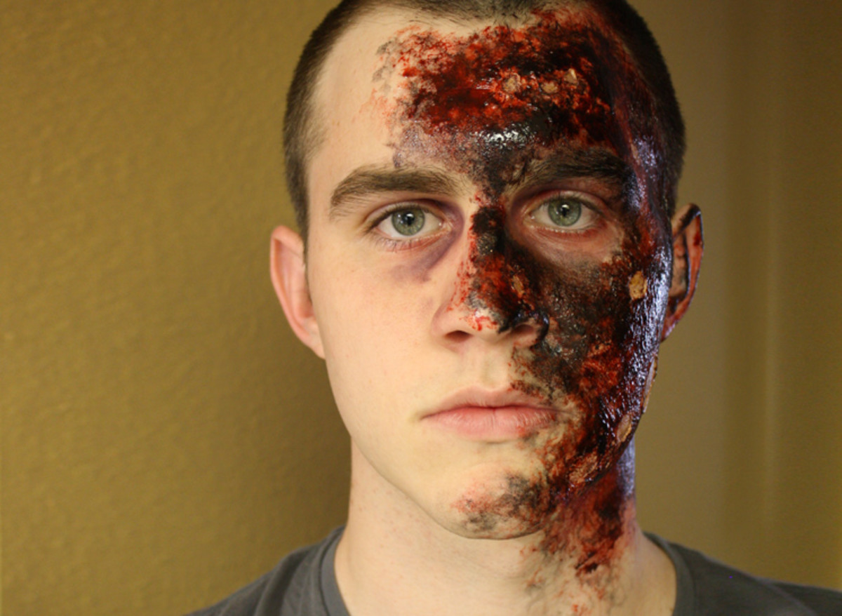 How To Create Easy Ish And Realistic Burn Makeup