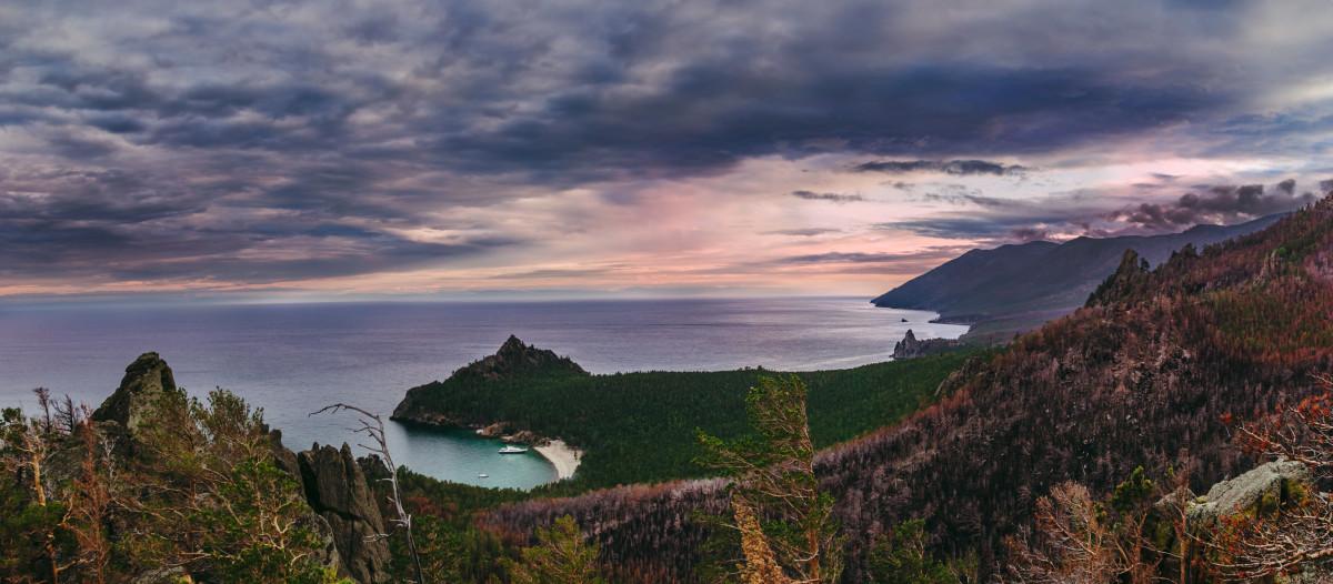 Lake Baikal Panorama