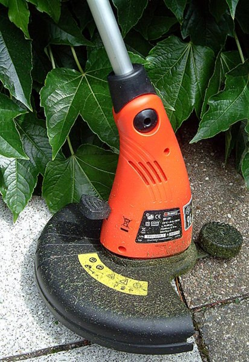 How to use a string trimmer properly without breaking the line electric corded trimmer keyboard keysfo Images