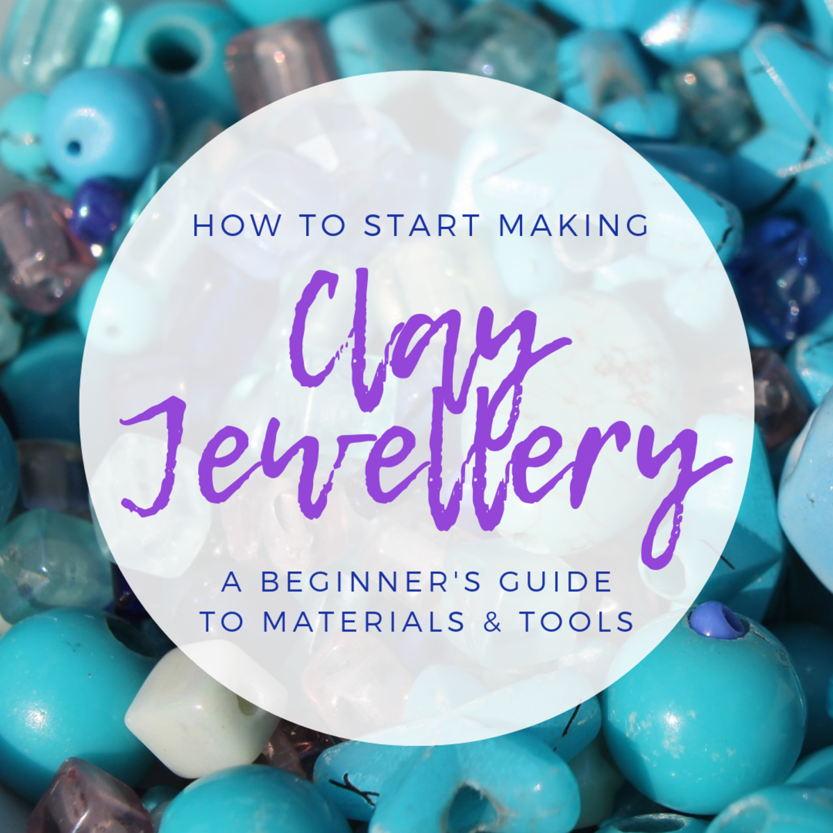 Learn how to choose the right supplies before you begin making clay jewellery.
