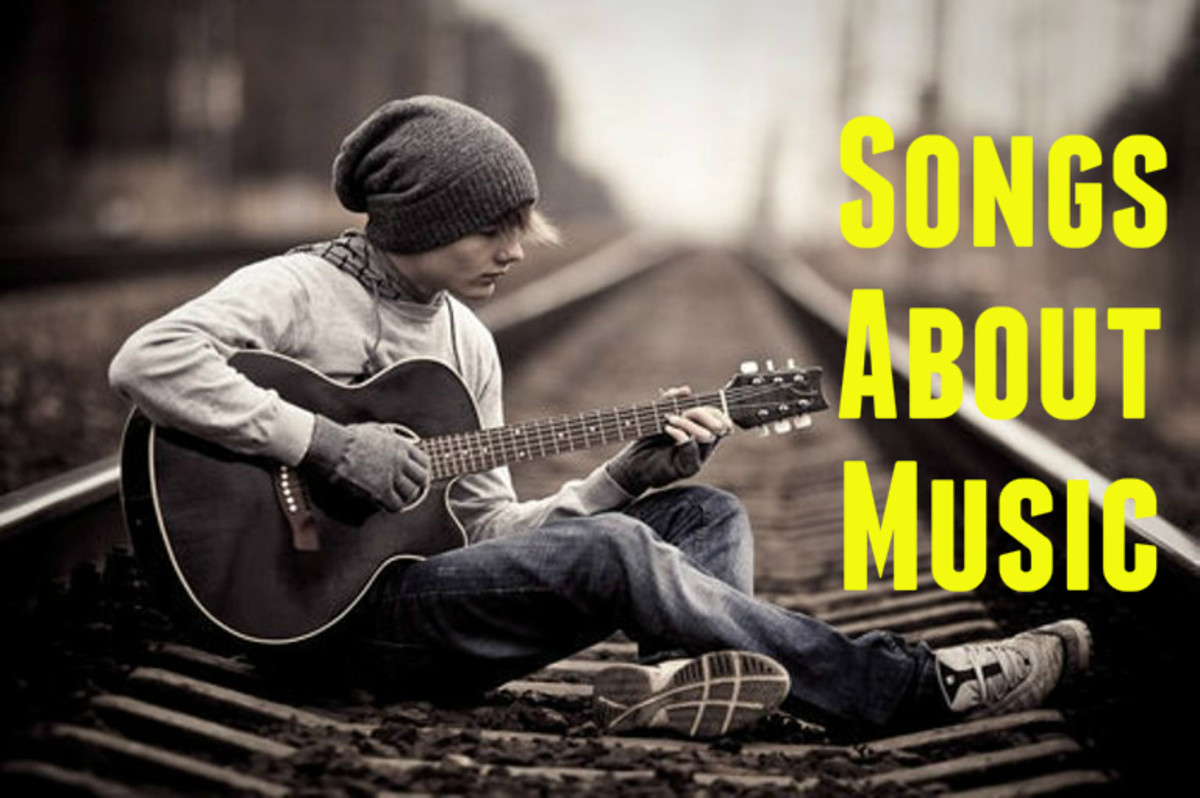 Do you love rock n' rock, country, pop music?  Some of the best songs celebrate music itself. Compile a playlist of songs about music, songwriting, and singing.