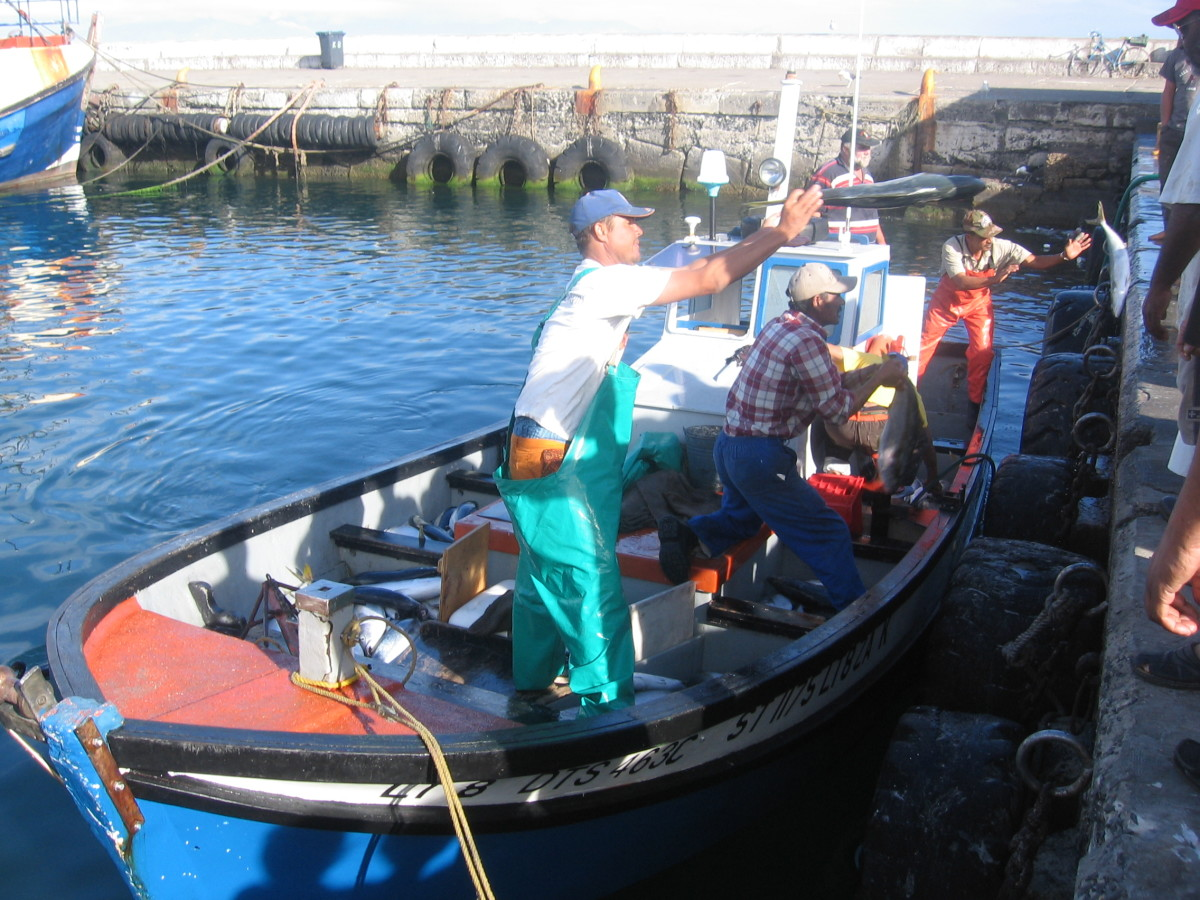 Off loading the catch