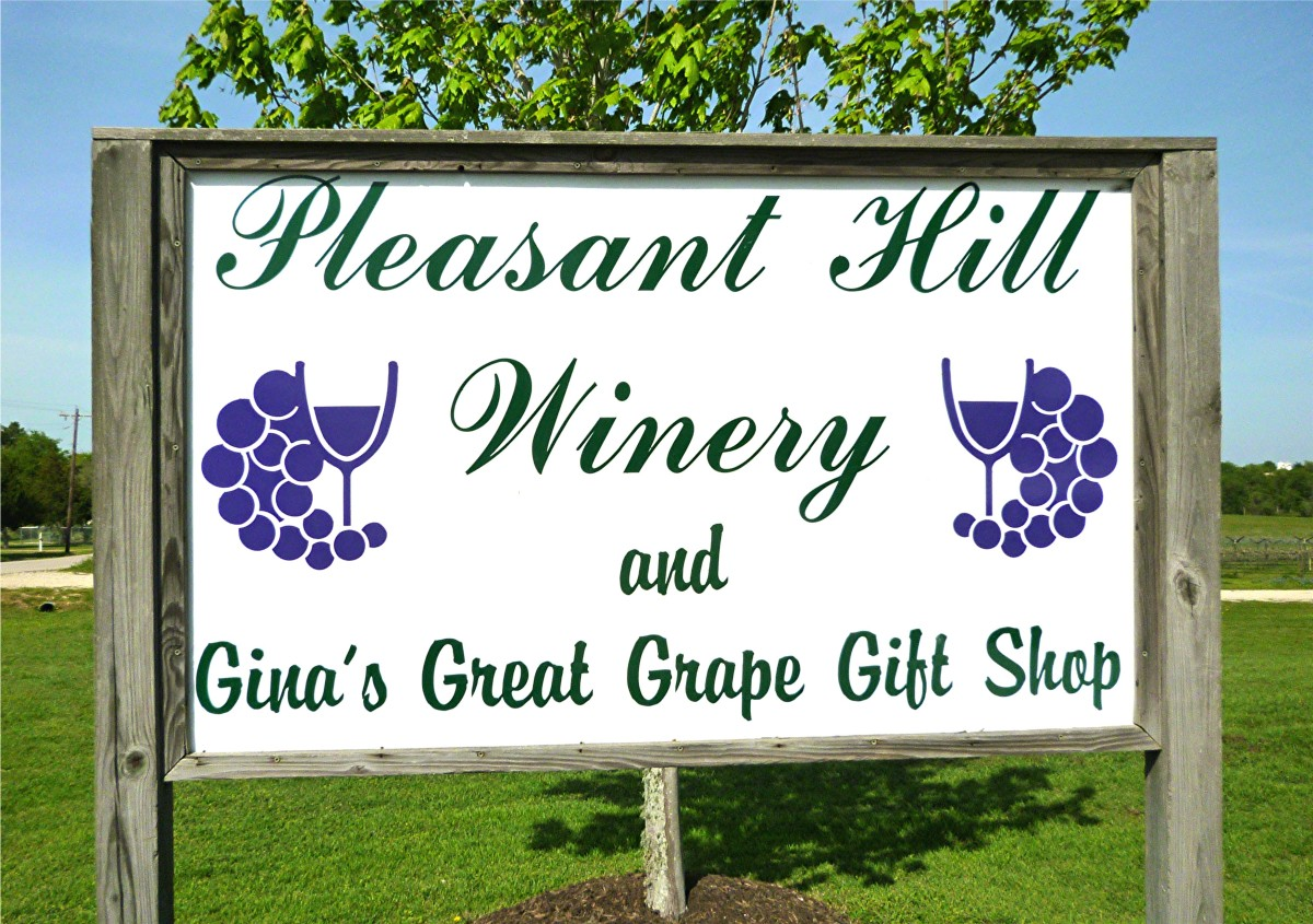 Pleasant Hill Winery Sign