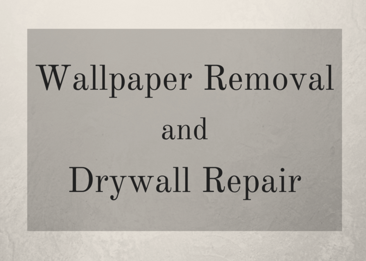 How to Remove Wallpaper and Repair Damaged Drywall