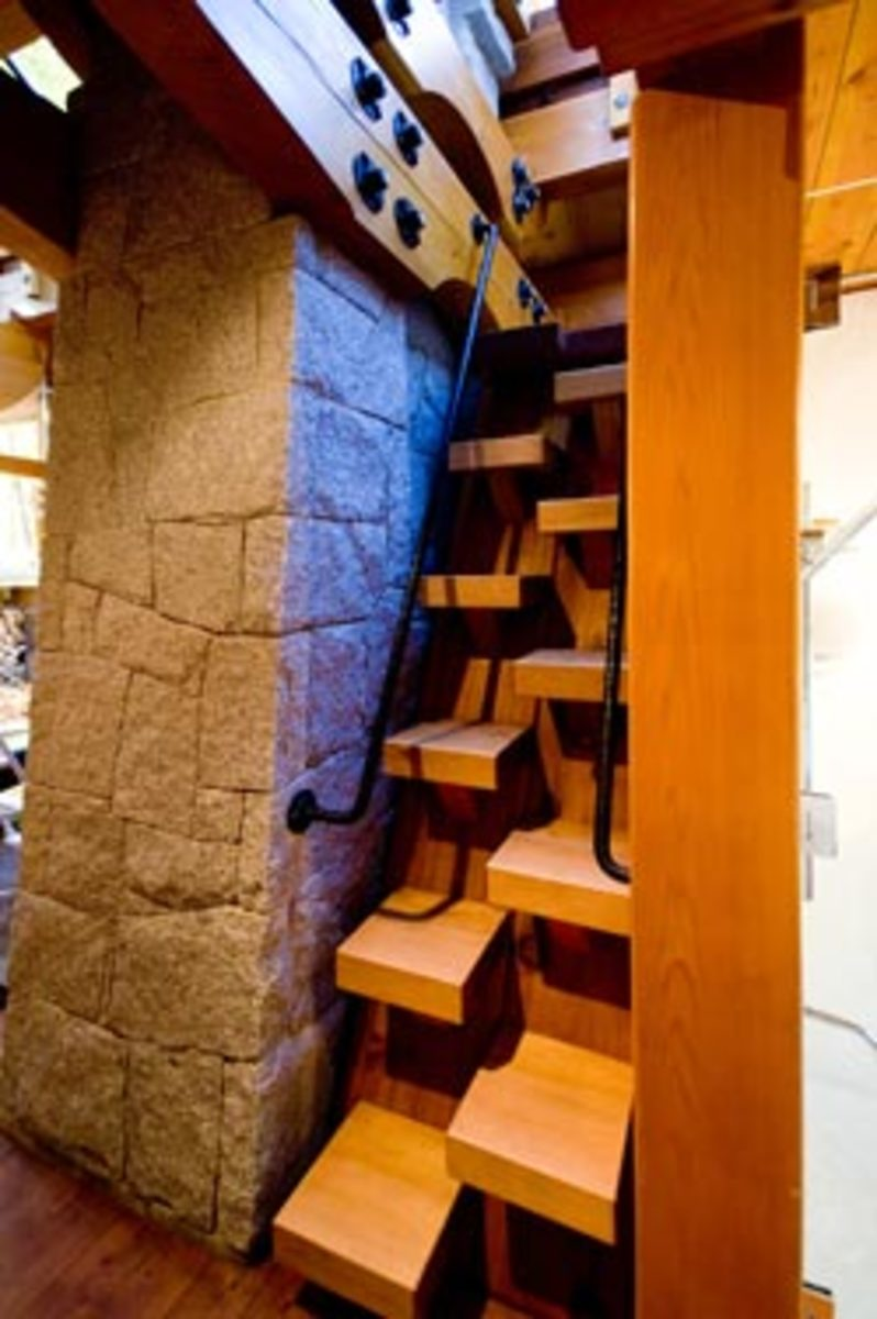 Amazing and Unusual Spiral and Wooden Staircases