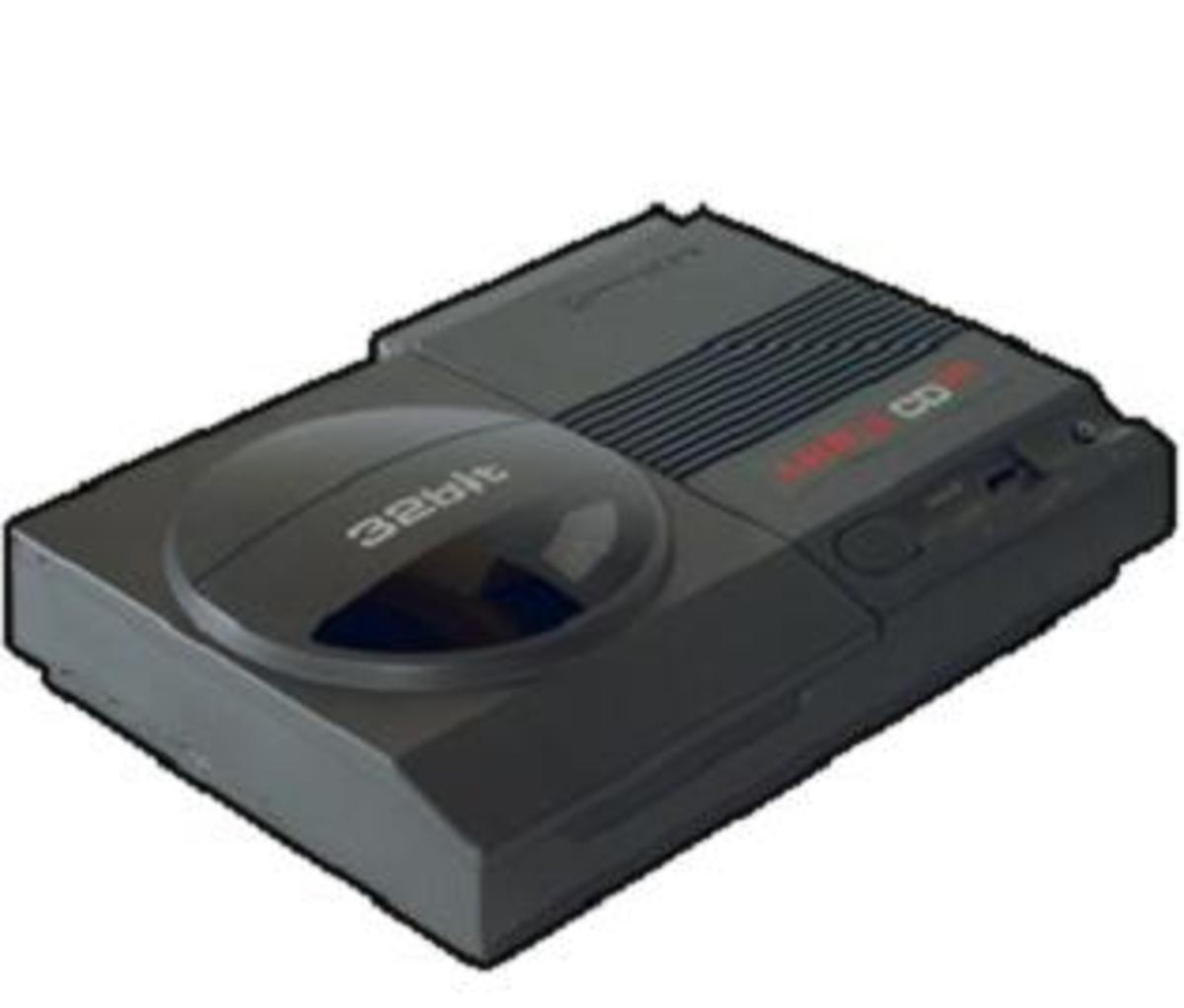 Commodore's attempt to enter the console market with the ill-fated Amiga CD32