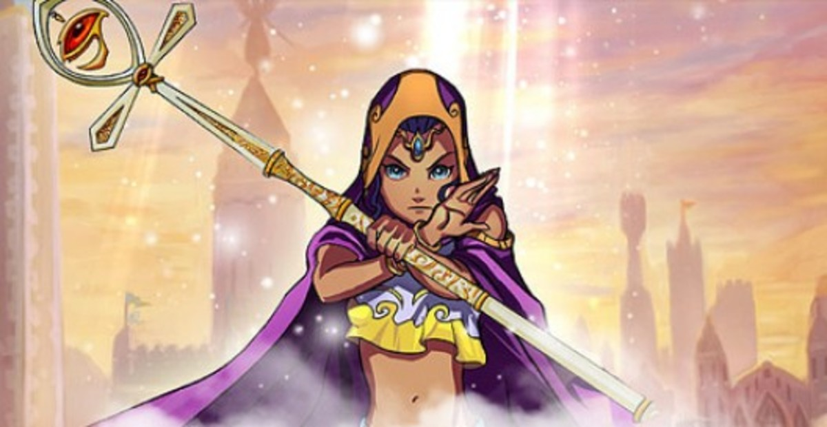 Nadia: One of the two Wizard heroes you'll be able to play as in this game.