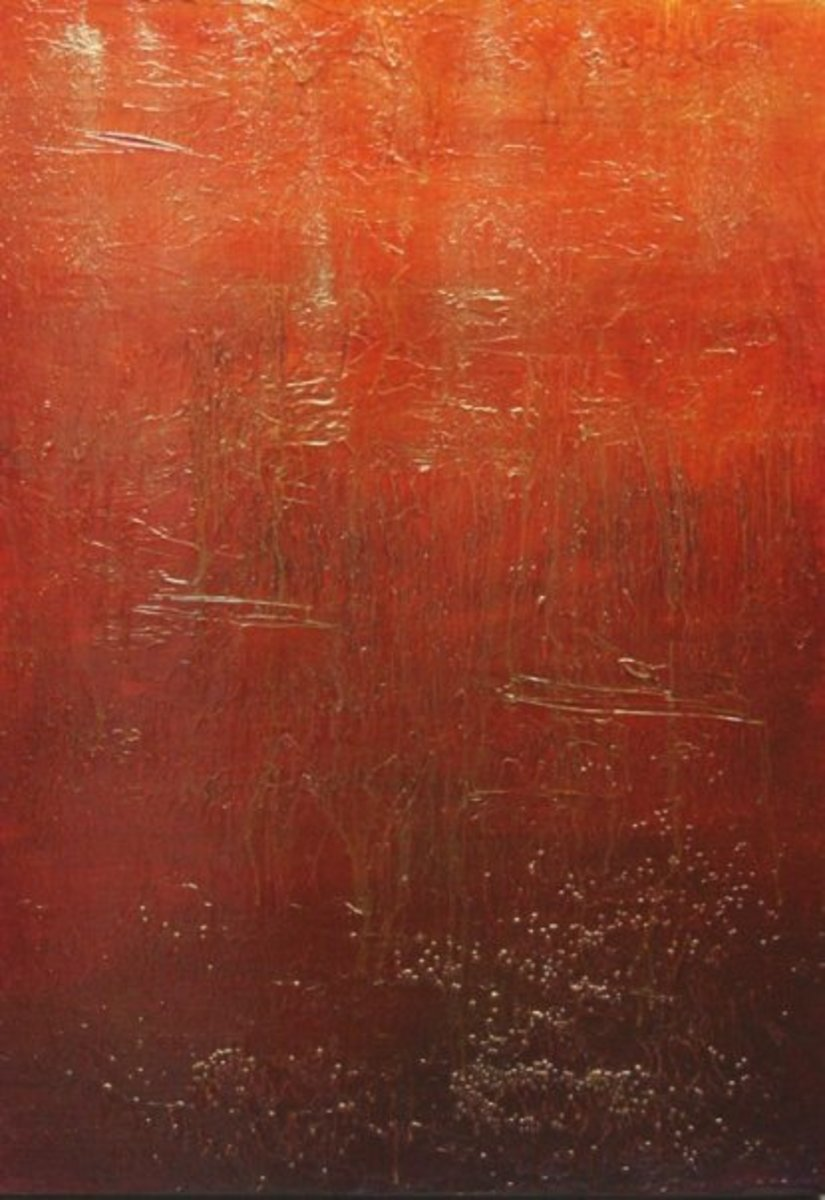 Alternative Textures to Use in Abstract Paintings