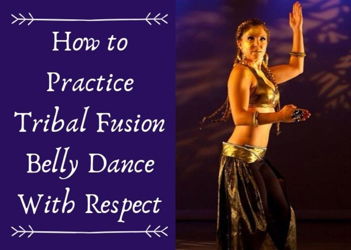 It's important to be respectful of the dance you're studying.