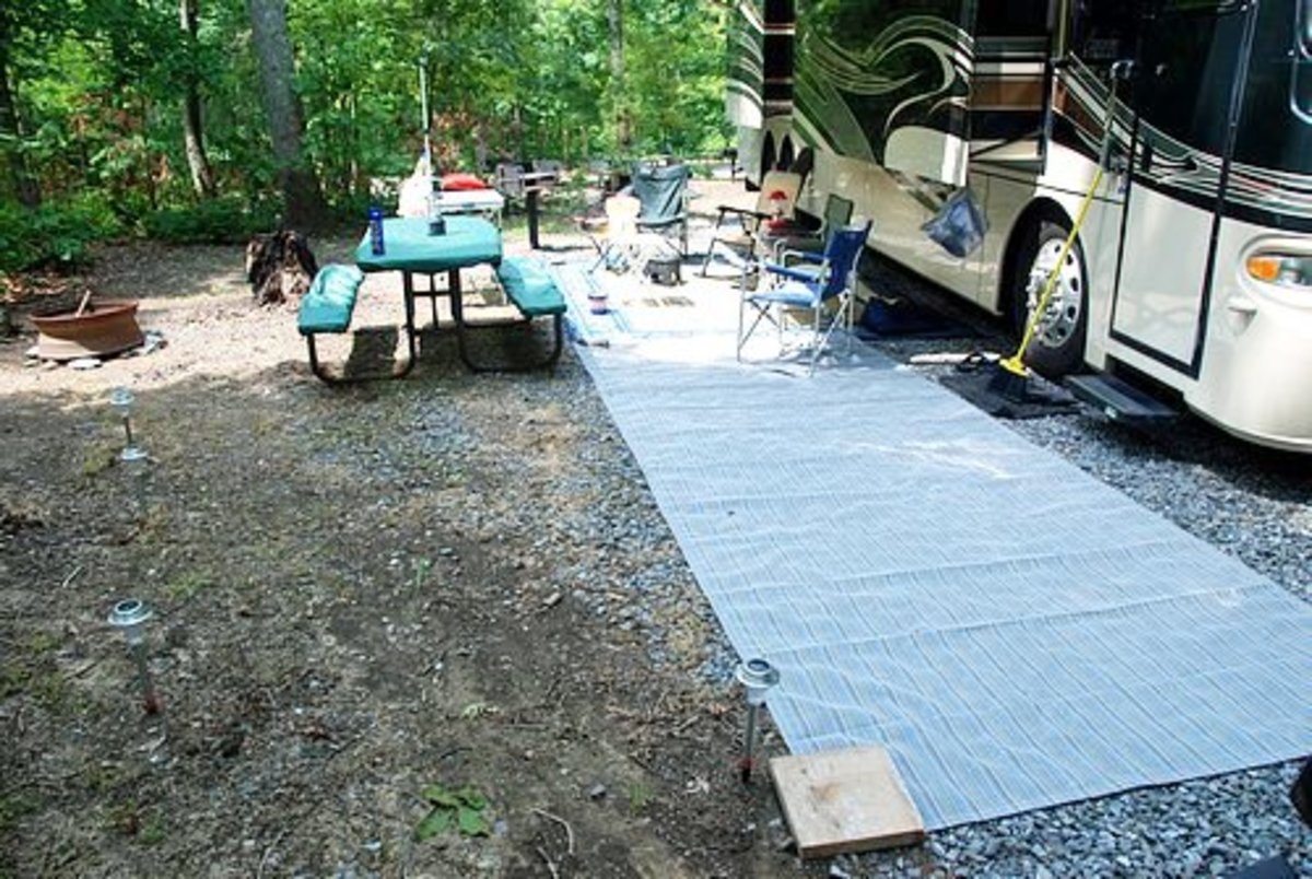 Set Up a Comfortable RV Campsite by Using the Best Gear.