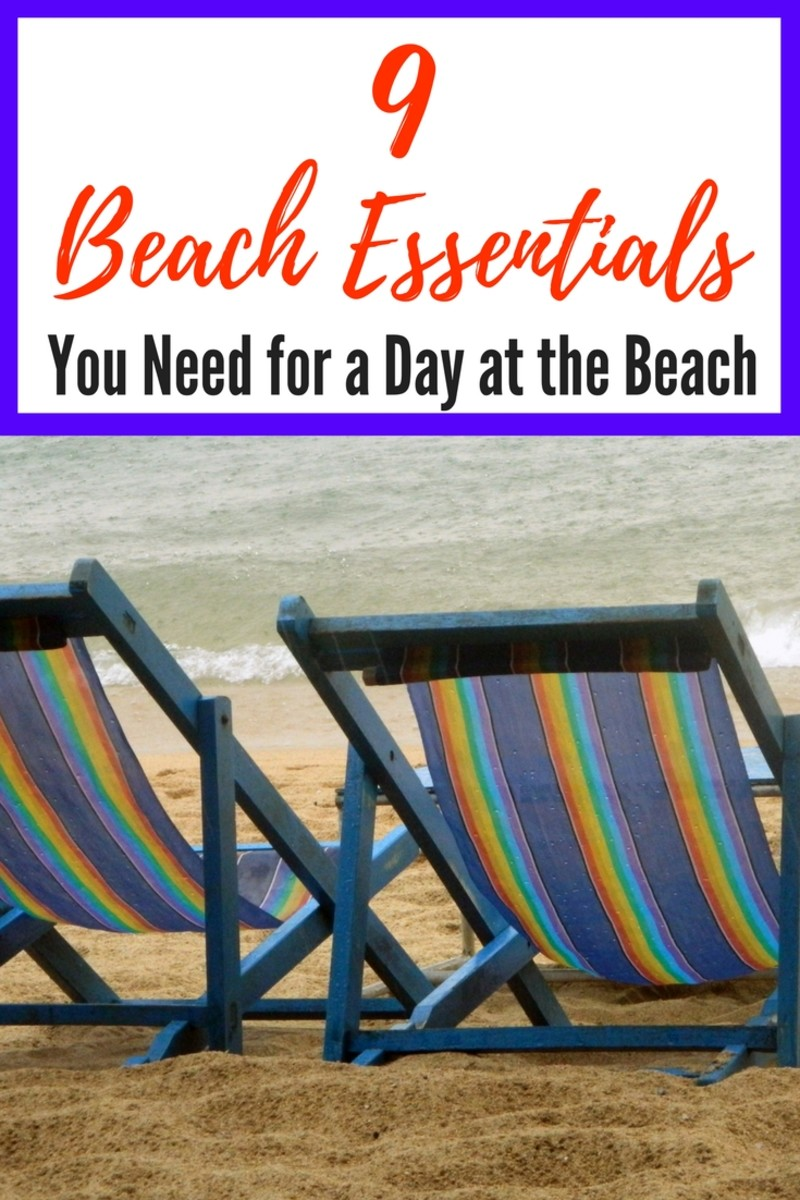 9 Beach Essentials You Need for a Day at the Beach