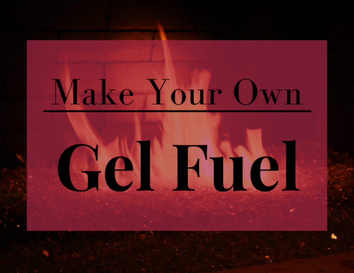 How to Make Gel Fuel