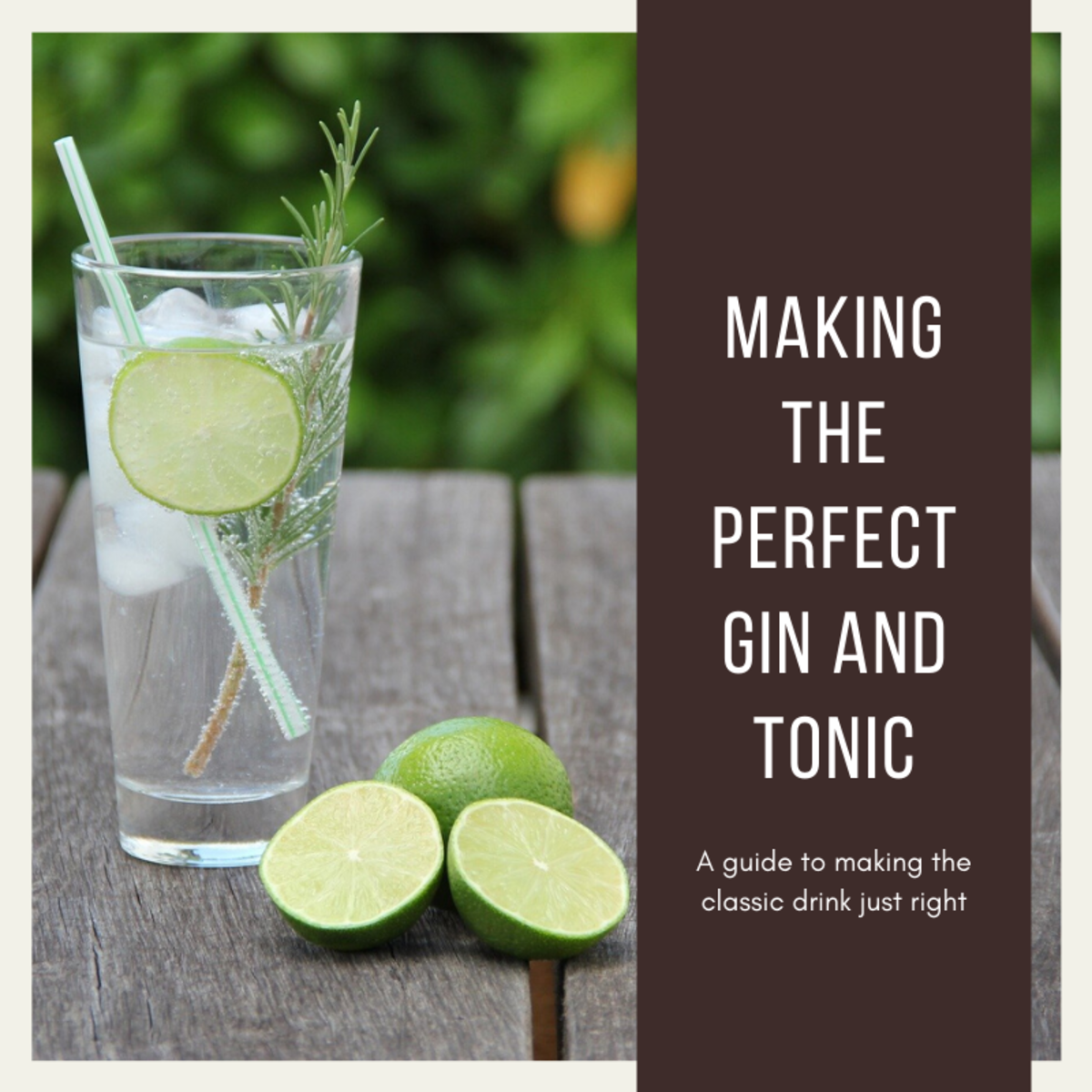 This guide will provide you with the secrets to making the perfect gin and tonic every time.
