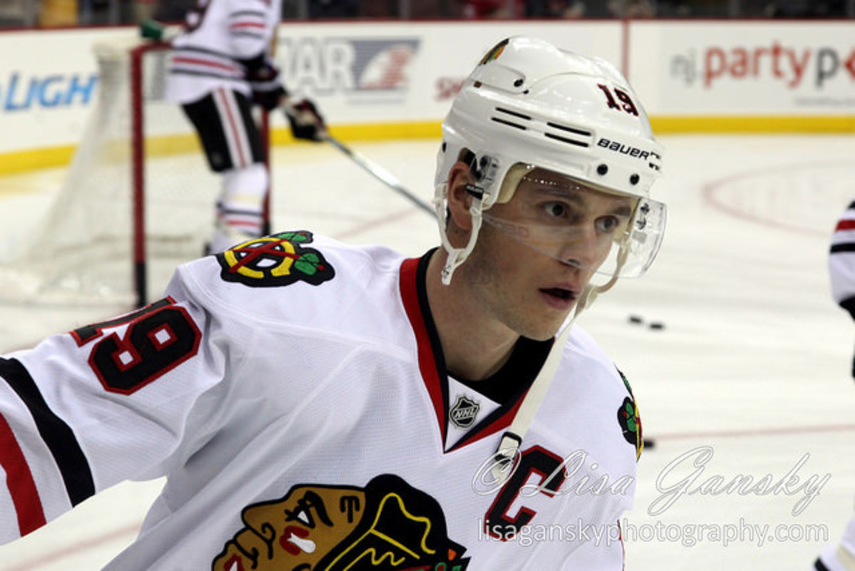 Jonathan Toews and Other NHL Players Associated with the University of North Dakota