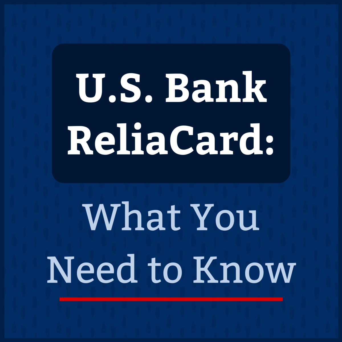 Discover some facts—and FAQs—about your U.S. Bank ReliaCard prepaid debit card.