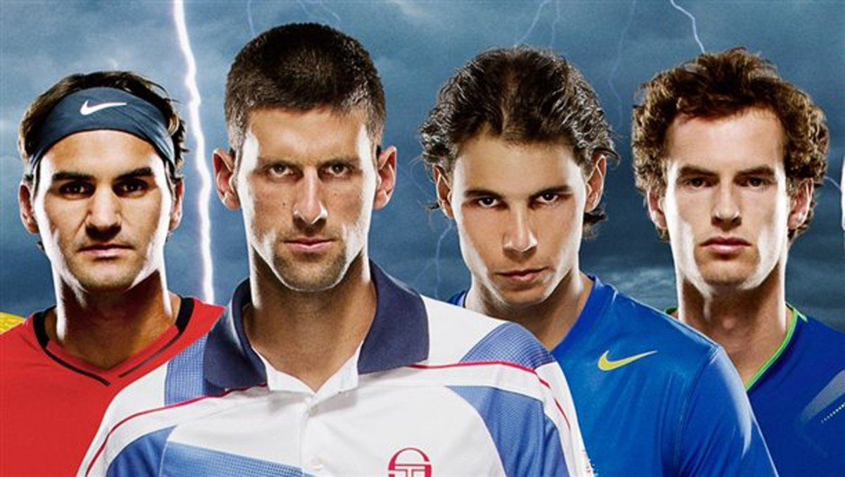 "Tennis' ""Big Four"""