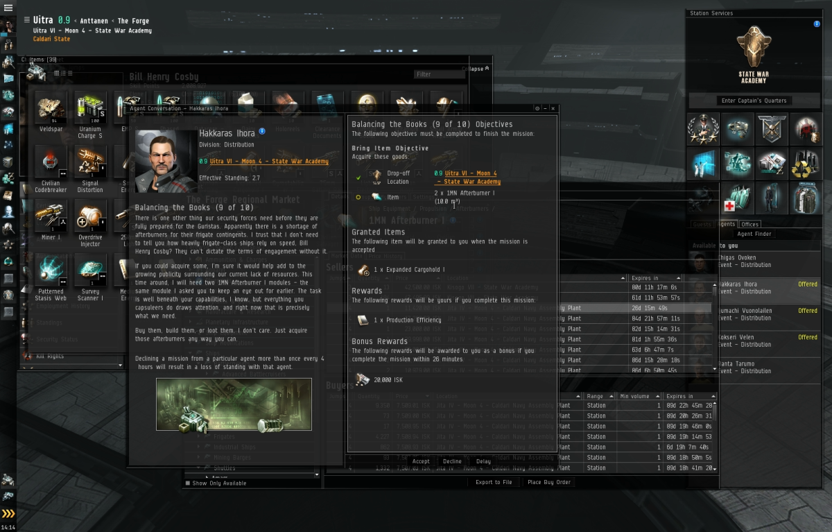 """""""Eve Online"""" Business Arc Guide: Balancing the Books (9 & 10)"""