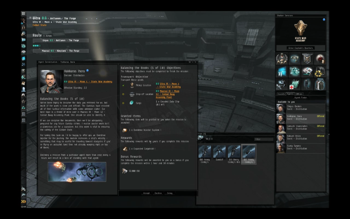 """""""EVE Online"""" Business Arc Guide: Balancing the Books (5 & 6)"""