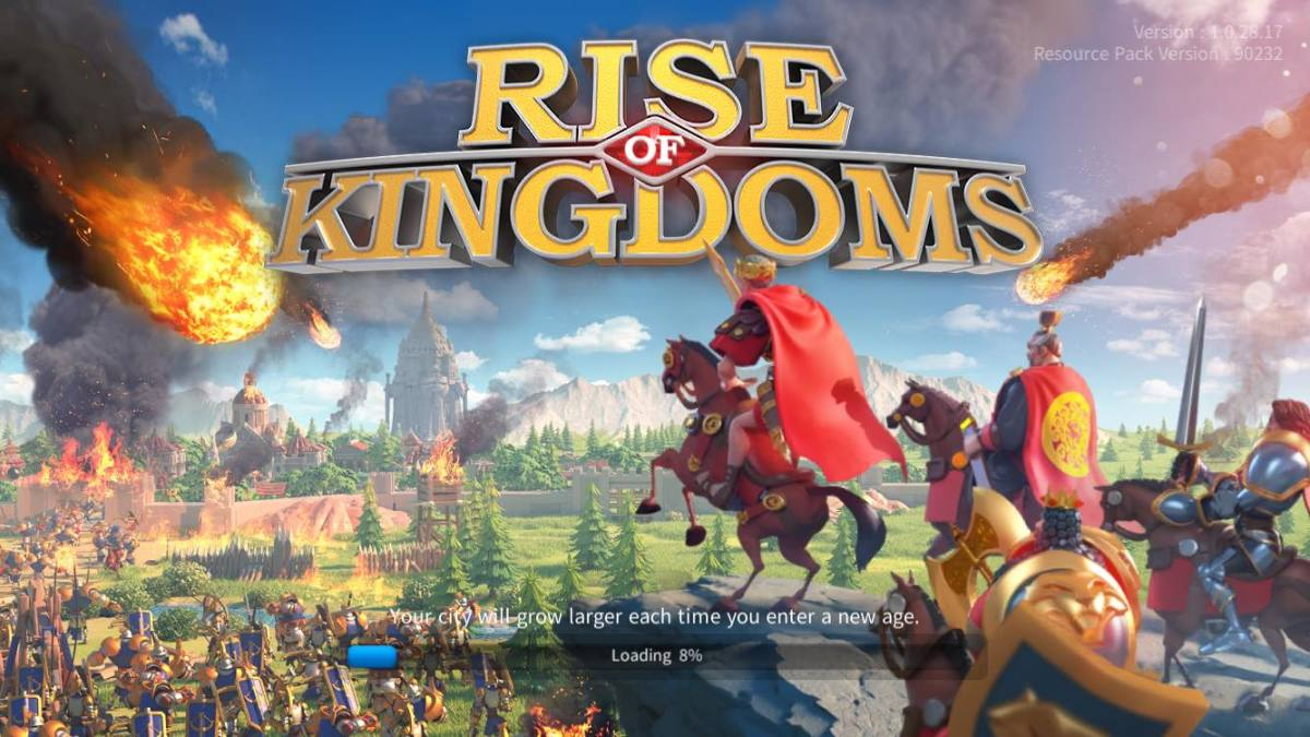 """Rise of Kingdoms"" Loading Screen"