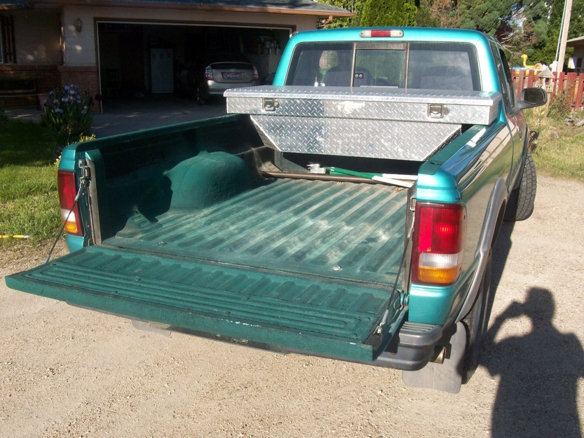 a paint-on truck bed liner: my personal experience | axleaddict