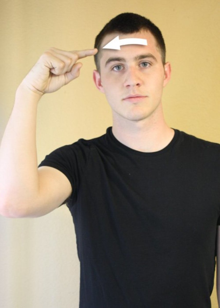 American Sign Language: ASL Colors