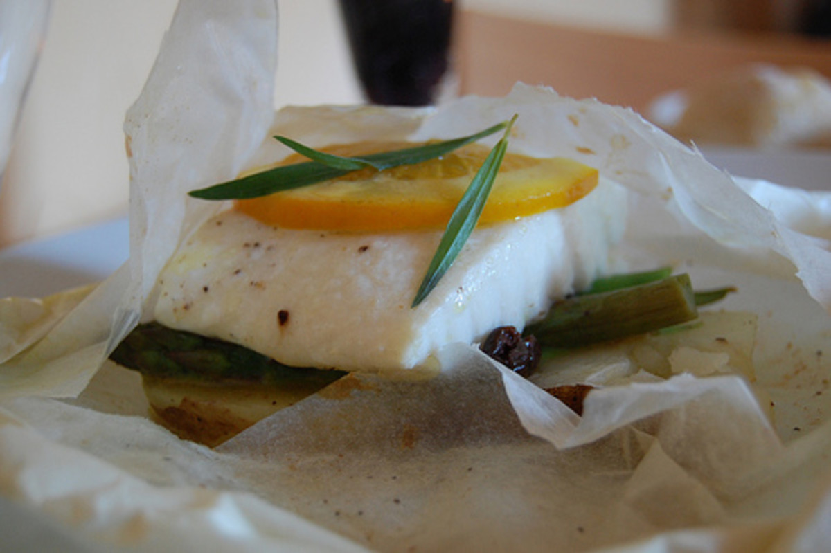 Parchment Paper Recipes For Salmon And Chicken