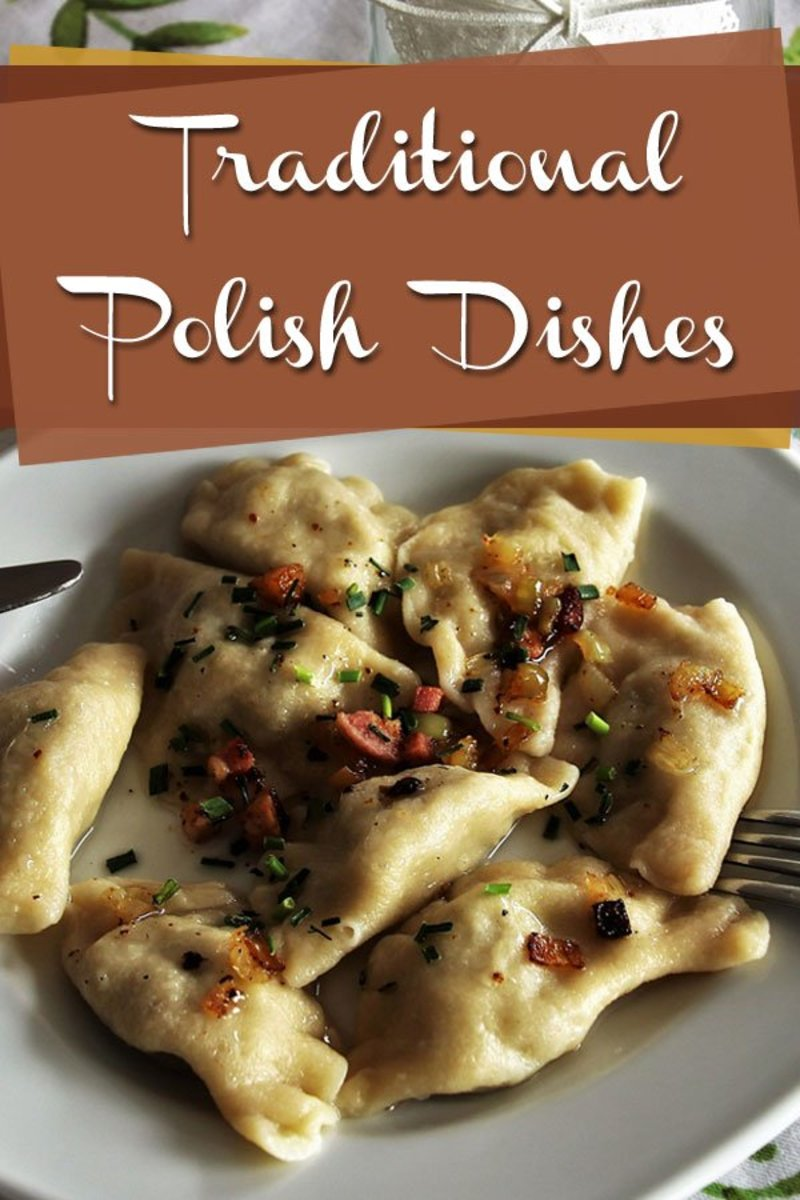 Discover some of the traditional foods of Poland, like these pierogi.