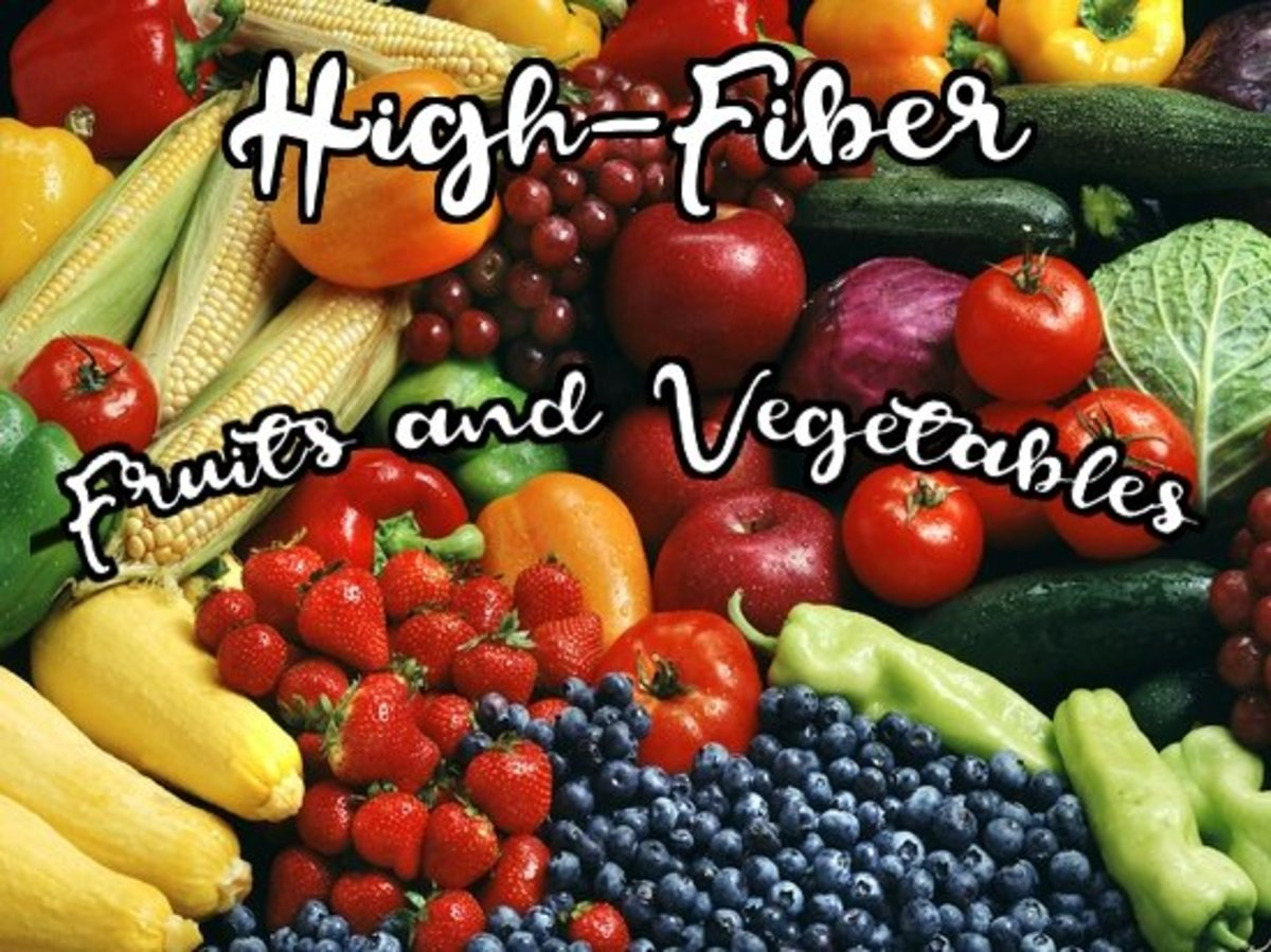 High-Fiber Fruits and Vegetables List