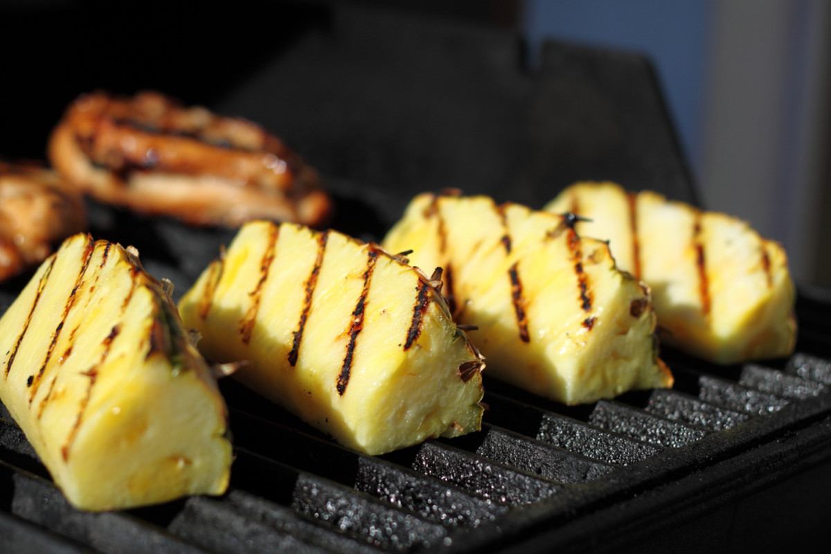 Pineapple makes for delicious grilled fruit