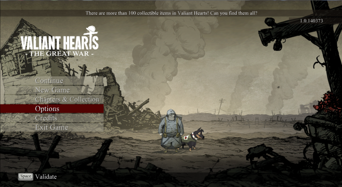 Valiant Hearts Walkthrough, Chapter One, Part One: Saint Mihiel to Marne