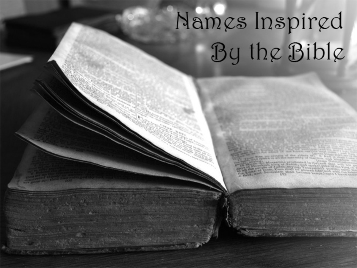 Baby Names Inspired by the Bible   WeHaveKids