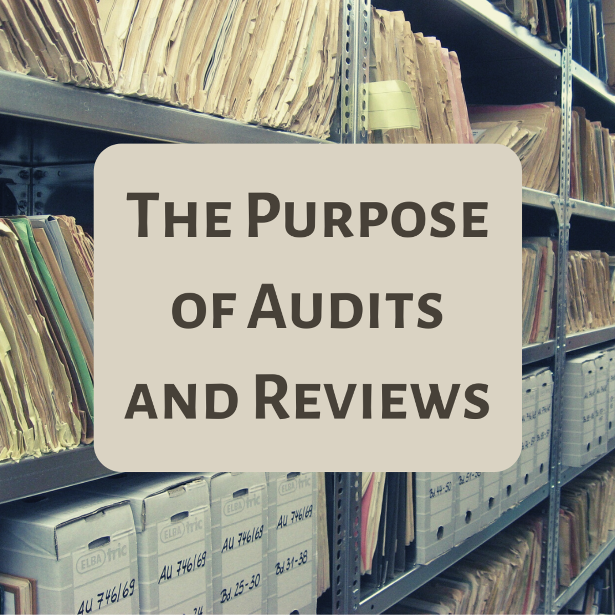 Learn more about the nature, scope and purpose of an audit and review.