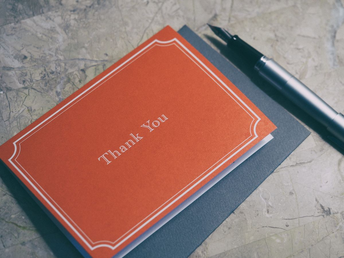 "How to Say ""Thank You"" in Writing: 25 Ideas"